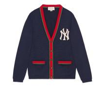 Herren Cardigan mit NY-Yankees™ -Patch
