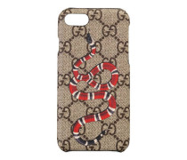 iPhone 8-Etui mit Kingsnake-Print
