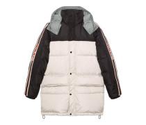 Mantel aus Nylon mit Gucci Streifen