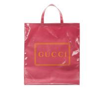 Mittelgroßer Shopper mit GucciPrint