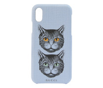 iPhone X/XS-Etui mit Mystic Cat