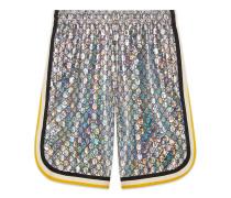 Shorts aus laminiertem GGJersey