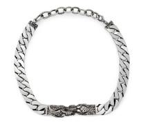 Tigerkopf-Halskette