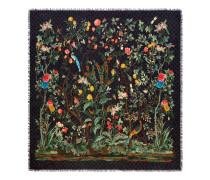 Halstuch aus Modal und Seide mit Gucci Tian-Print