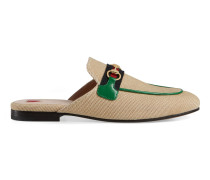 Princetown Damenslipper aus Canvas