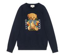 Pullover mit Gucci Logo und Teddybär