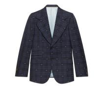 Heritage Jacke aus kariertem Stoff