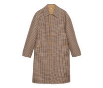 Wendbarer Mantel aus Wolle
