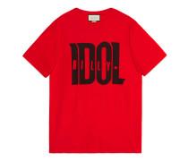 Übergroßes T-Shirt mit Billy Idol-Print