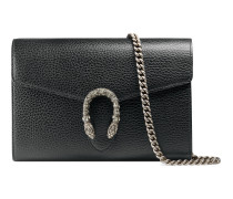 Dionysus Mini-Tasche aus Leder mit Kette