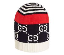Mütze aus Baumwolle mit GGMotiv