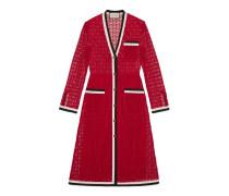 Langärmeliges Kleid aus GG Makramee