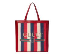 Großer Shopper mit Gucci Print