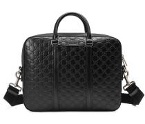 Aktentasche aus Gucci Signature Leder