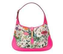 Mittelgroße Jackie Hobo-Tasche mit Flora