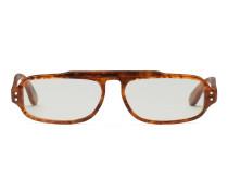 Brille aus Azetat mit rechteckigem Gestell