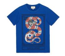 Übergroßer T-Shirt mit Kingsnake-Print