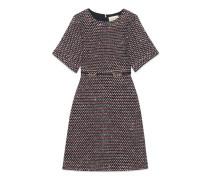 Kleid aus Tweed mit Pailletten