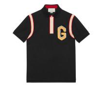 Poloshirt aus Baumwolle mit G-Patch