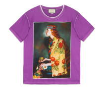 T-Shirt mit Ignasi Monreal-Print