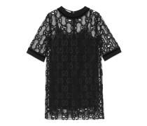 Kleid aus GG Leder-Makramee