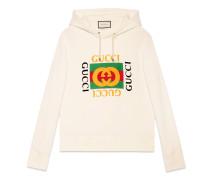 Übergroßer Pullover mit Gucci logo