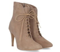 Bellanca Lace-up Boot - Beige