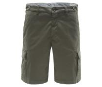 Cargo-Shorts oliv
