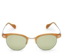 Sonnenbrille 'Executive II' ocker/oliv