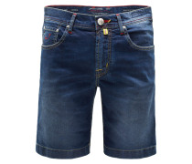 Jeans-Bermudas 'J6636 Comfort Slim Fit' navy