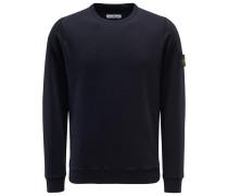 Sweatshirt mit Rundhals dark navy