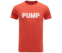 R-Neck T-Shirt 'Pump' rot