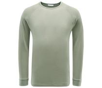 R-Neck Sweatshirt 'Levi' oliv