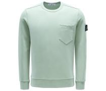 R-Neck Sweatshirt mintgrün