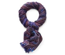Cashmere Schal violett/rot