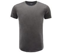 R-Neck T-Shirt schwarz