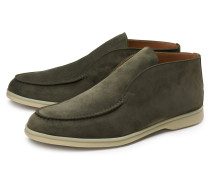 Loafer 'Open Walk' oliv