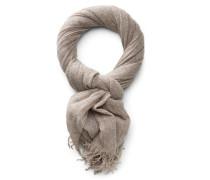 Cashmere Schal graubraun