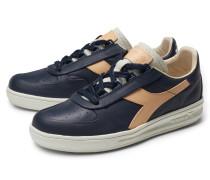 Sneaker 'B.Elite ITA Premium' navy/hellbraun