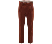 Wollhose 'Spice Route Preppy Fit' rotbraun