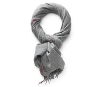 Cashmere Schal grau