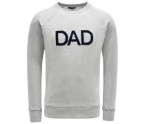 R-Neck Sweatshirt 'Dad' hellgrau