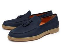 Tassel Loafer navy