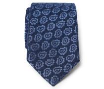 Krawatte navy/hellblau