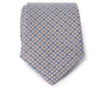 Krawatte hellblau/braun
