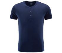 Henley-T-Shirt navy