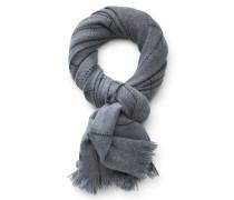 Cashmere Schal 'Arezzo' hellblau/grau