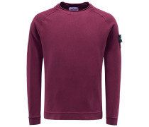 R-Neck Sweatshirt bordeaux