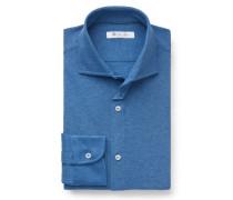 Jersey-Hemd 'Andrew' graublau