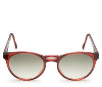 Sonnenbrille 'Nada' rot/dunkelgrau